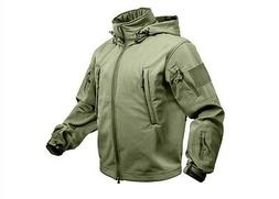 Waterproof Tactical Jacket Special Ops Soft Shell   Olive Dr