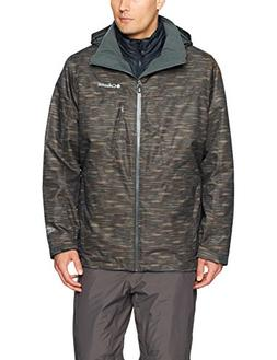 Columbia Men's Whirlibird Interchange Jacket, Medium, Gravel