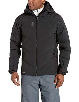Salomon Men's Whitebreeze Down JACKET , Black, X-Large