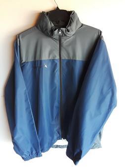Windbreaker Frogg Toggs RiverToadz Jacket NEW Blue & Grey Si