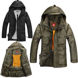 Windproof Duck Down Jackets Winter Warm Thicken Coat Jacket