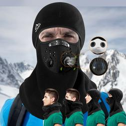 Windproof Warm Balaclava Ski Mask Full Face Fleece Neck Wint