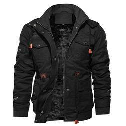 Winter Fleece Jackets Men Military Tactical Army Thick Mascu