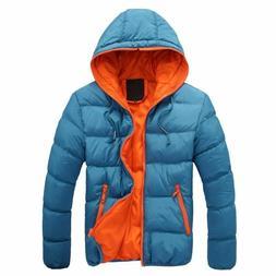 Winter Jacket Men's Warm Coat Parkas Fashion Hooded Jackets