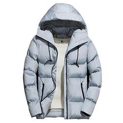 Enjoy-Sexy Winter Jacket Men Thick Warm Korea Coat Mens Casu