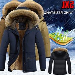 Winter Men 's Jacket Padded Fleece Jacket Thicken Cotton Win