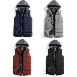 Winter Men'S Warm Waistcoat Casual Vest Sleeveless Jacket Wi