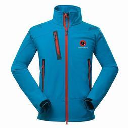 Winter Outdoor Male Soft shell Windbreaker <font><b>Jacket</