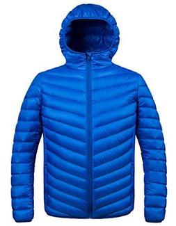 ZSHOW Men's Winter Packable Down Jacket With Hood