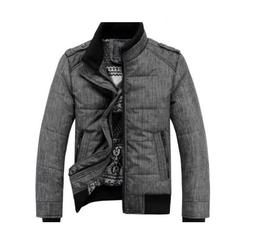 Gaorui Men winter sport quilted jacket cotton-padded dust co