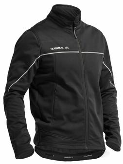 INBIKE Winter Men's Windproof Thermal Cycling Jacket Black M
