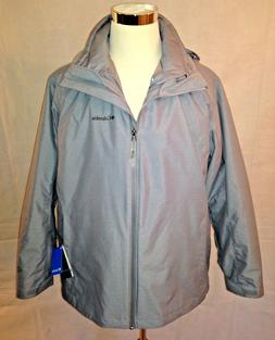 Columbia Women's Gray Whirlibird Interchange Jacket Omni-Hea