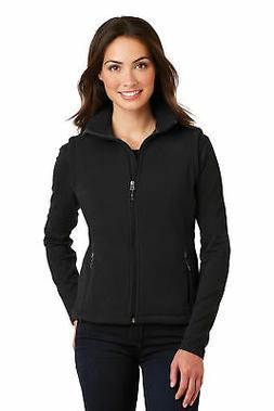 Port Authority Women's Reverse coil zipper Value Fleece Vest