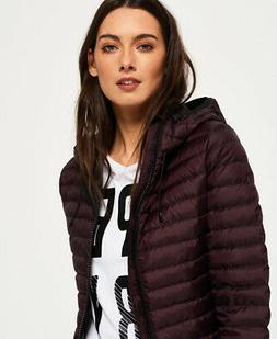 Superdry Womens Core Down Hooded Jacket