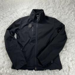 66 North Women's L Full Zip Softshell Light Jacket sz M He
