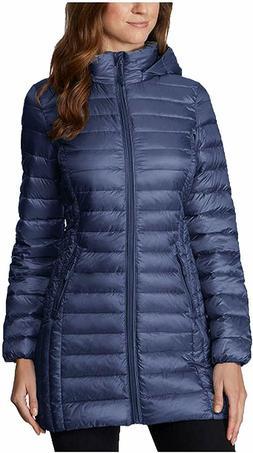 32 Degrees Heat Ladies Packable Jacket Eclipse Blue