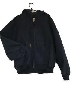 Carhartt Work jacket Hoodie Navy blue Never Worn Men's Siz