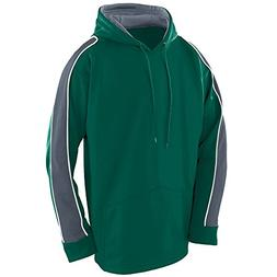 Augusta Sportswear MEN'S ZEST HOODIE XL Dark Green/Graphite/