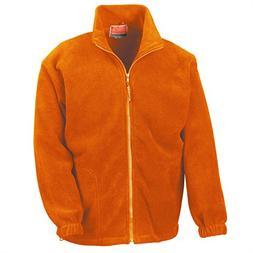 Result zip fleece - Orange - S