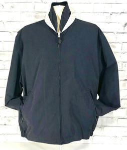 London Fog Men's Auburn Zip-Front Golf Jacket , Navy, X-Larg